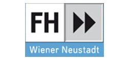 Logo FH Wiener Neustadt für Wirtschaft und Technik GesmbH